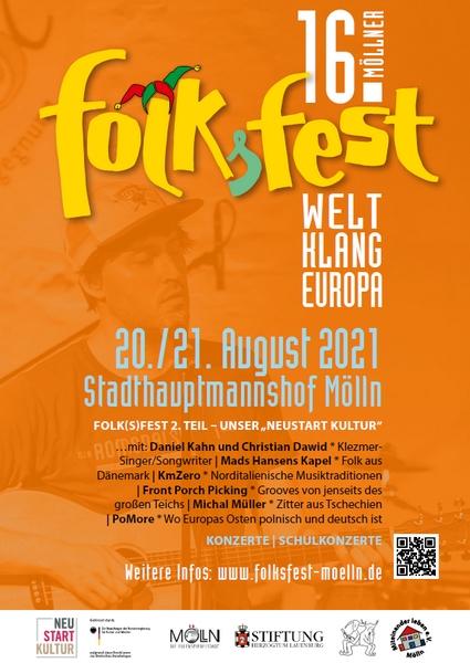 16. Möllner Folksfest - NEUSTART KULTUR